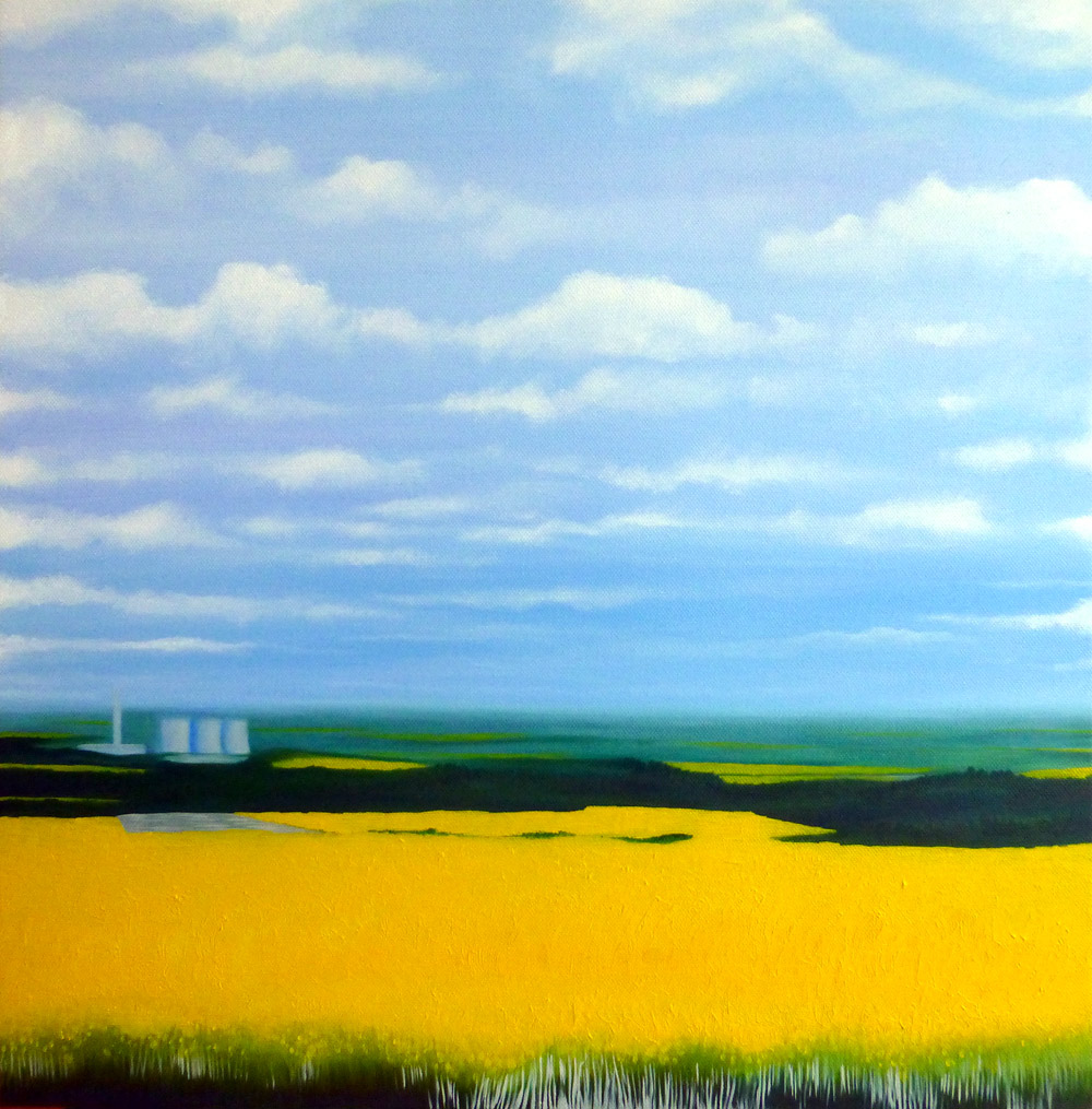 didcot power station rapeseed fields