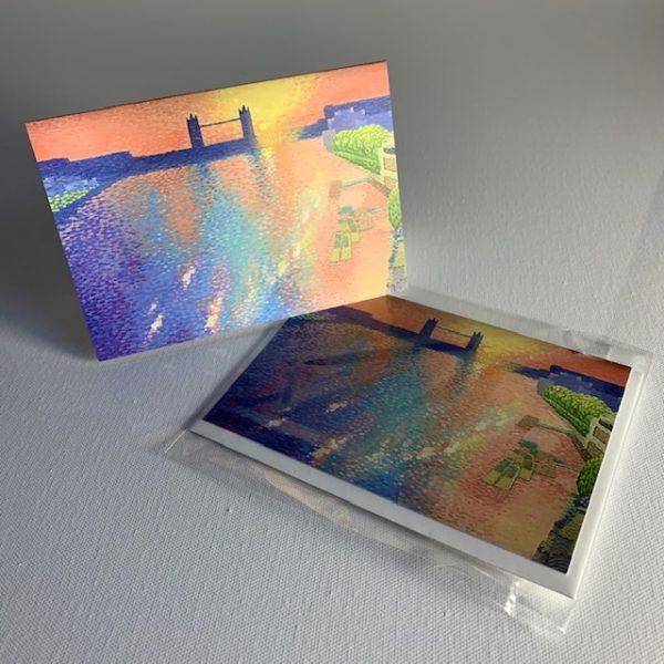 Tower Bridge - greeting card