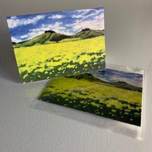 Wittenham Clumps 2 - greeting card